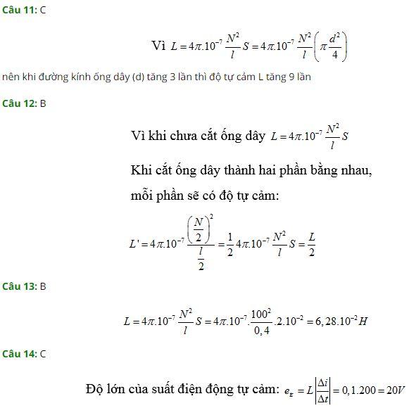 Vật lý 11 bài 25