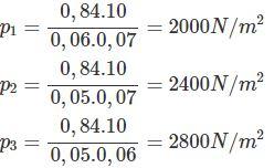 Giải bài tập SBT Vật lý lớp 8 bài 7: Áp suất