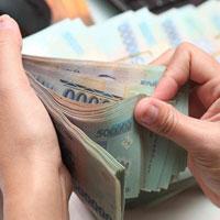 Số liệu tiền gửi bằng đồng Việt Nam