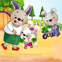 Giáo án truyện: Cây rau của Thỏ Út