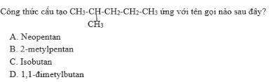 Giải bài tập Hóa học 11:Ankan