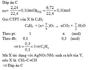 Giải bài tập trang 147 SGK Hóa học lớp 11: Luyện tập Ankin