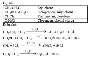 Dẫn xuất halogen của hiđrocacbon