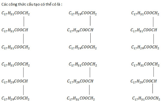 Giải bài tập Hóa học 12:Lipit