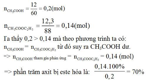 Giải bài tập trang 210 SGK Hóa học lớp 11: Axit cacboxylic