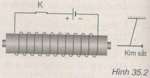 Giải bài tập SBT Vật lý lớp 9 bài 35: Các tác dụng của dòng điện xoay chiều - Đo cường độ và hiệu điện thế xoay chiều