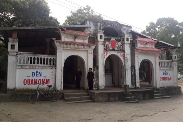 Đền Quan Giám tại Hàn Sơn