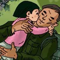 Bài viết số 6 Ngữ văn lớp 9: Suy nghĩ về đời sống tình cảm gia đình trong chiến tranh qua Chiếc lược ngà