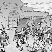 Giải bài tập SGK Lịch sử 5 bài 23: Sấm sét đêm giao thừa
