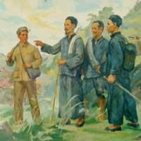 Viết bài tập làm văn số 7: Bài thơ Tức cảnh Pác Bó của Hồ Chí Minh