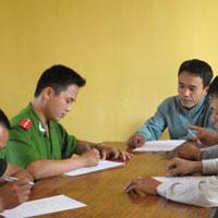 Giấy chứng nhận đã chấp hành xong biện pháp hòa giải tại cộng đồng