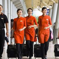 Mẫu đơn đăng ký dự tuyến tiếp viên hàng không của Jetstar Pacifc