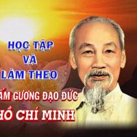 Nội dung sinh viên học tập và làm theo tấm gương đạo đức Hồ Chí Minh