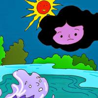 Giải bài tập Ngữ văn lớp 9 bài 25: Mây và sóng