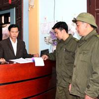 Báo cáo tình hình, kết quả thực hiện các quy định về ANTT trong cơ sở kinh doanh