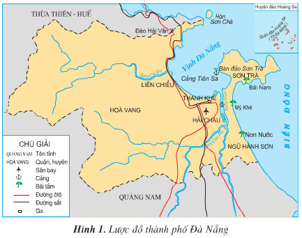 Giải bài tập SGK Địa lí 4 bài 28: Thành phố Đà Nẵng