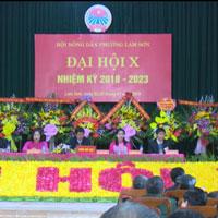 Bài phát biểu của lãnh đạo tại Đại hội nông dân xã