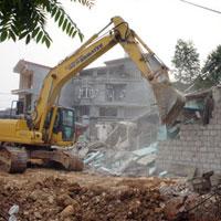 Mẫu thông báo về việc thực hiện biện pháp buộc tháo dỡ công trình, phần công trình xây dựng vi phạm