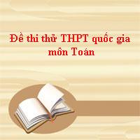 Đề thi thử THPT quốc gia môn Toán năm 2018 Sở GD&ĐT Bình Thuận