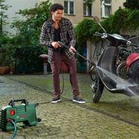 Sử dụng máy rửa xe motor chổi than hay motor từ tốt hơn?