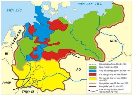 Lý thuyết Lịch sử 10 bài 33: Hoàn thành cách mạng tư sản ở châu Âu và Mĩ giữa thế kỉ XIX