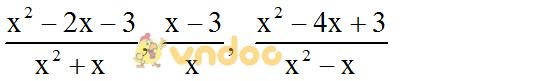Giải bài tập SGK Toán lớp 8 Bài 1: Phân thức đại số