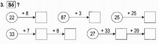Giải vở bài tập Toán 2 bài 13: Luyện tập