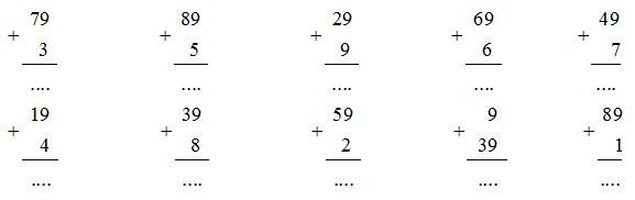 Giải vở bài tập Toán 2 bài 15