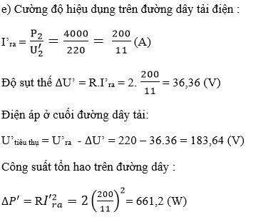 Giải bài tập SGK Vật lý 12 bài 16