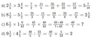 Giải vở bài tập Toán 5 bài 10