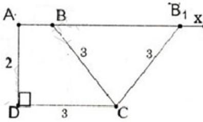 Giải bài tập SGK Toán lớp 8 bài 5: Dựng hình bằng thước và com-pa. Dựng hình thang