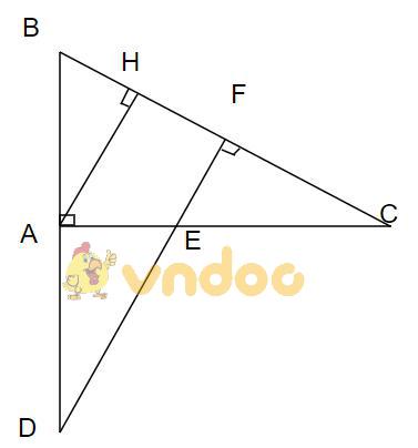 Cho tam giác ABC - Các bài toán hình lớp 7 về tam giác