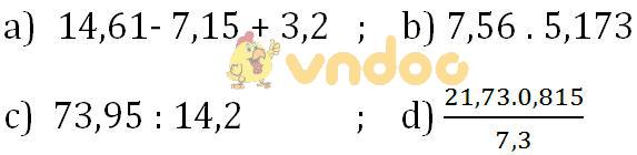 Giải bài tập SGK Toán lớp 7 bài 10: Làm tròn số