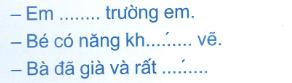 Đề kiểm tra cuối tuần Tiếng Việt lớp 1: Tuần 27 - Đề 1