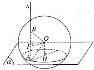 Giải SBT Toán 12 bài 2: Mặt cầu