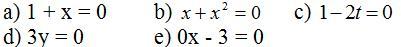 Giải bài tập SGK Toán lớp 8 bài 2: Phương trình bậc nhất một ẩn và cách giải