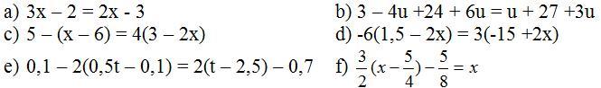 Giải bài tập SGK Toán lớp 8 bài 3: Phương trình đưa được về dạng ax + b = 0
