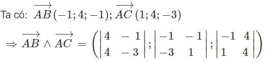 Giải SBT Toán 12 ôn tập chương 3: Phương pháp tọa độ trong không gian