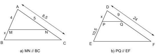 Giải bài tập SGK Toán lớp 8 bài 1: Định lí Ta-lét trong tam giác