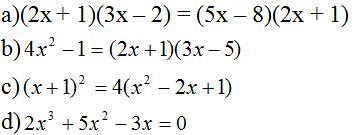 Giải bài tập SGK Toán lớp 8 bài: Ôn tập chương III: Phương trình bậc nhất một ẩn