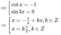 Giải SBT Toán 11 bài 2: Phương trình lượng giác cơ bản