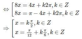 Giải SBT Toán 11 bài 3: Một số phương trình lượng giác thường gặp