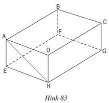 Giải bài tập SGK Toán lớp 8 bài 2: Hình hộp chữ nhật (tiếp)