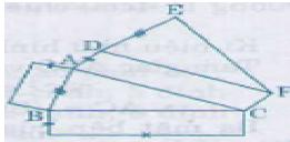 Giải bài tập SGK Toán lớp 8 bài 5: Diện tích xung quanh của hình lăng trụ đứng