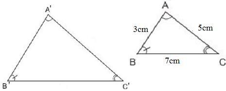 Giải bài tập SGK Toán lớp 8 bài 5: Trường hợp đồng dạng thứ nhất