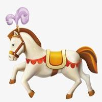 Tranh tô màu hình con ngựa