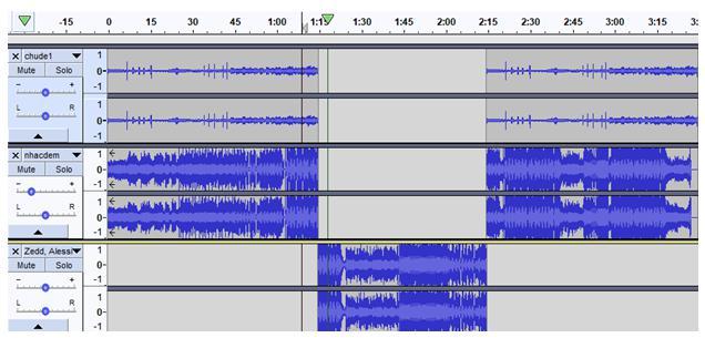 Giải bài tập SGK Tin học 9 bài 13: Phần mềm ghi âm và xử lí âm thanh Audacity