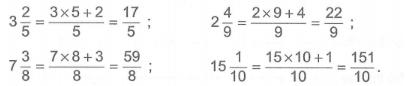 Bài tập Toán lớp 5: Hỗn số