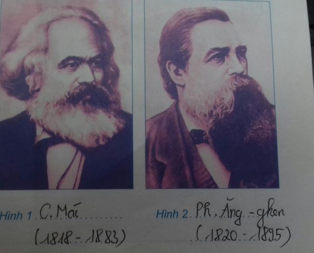 Giải Tập bản đồ Lịch Sử 8 bài 4: Phong trào công nhân và sự ra đời của chủ nghĩa Mác