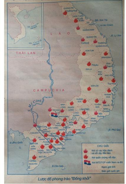 Giải Tập bản đồ Lịch Sử 9 bài 28: Xây dựng chủ nghĩa xã hội ở miền Bắc, đấu tranh chống đế quốc Mĩ và chính quyền Sài Gòn ở miền Nam (1954-1965)